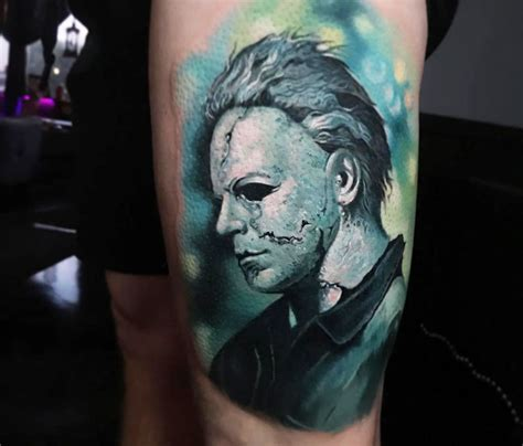 michael myers tattoo michael myers by paul acker no 3270