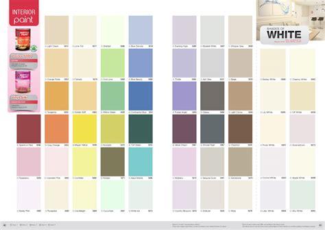 nippon paint vinilex  colour chart nippon paint