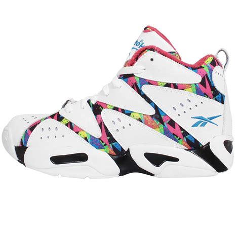 shawn kemp shoes reebok kamikaze 1 mid white shawn kemp mens basketball
