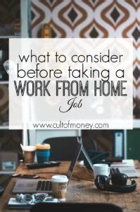 Want To Work Online From Home - want to work from home what to consider first cult of money