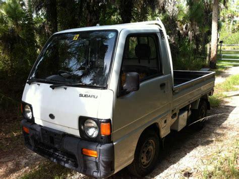 subaru mini truck for sale subaru sambar 4wd up mini truck