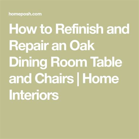 how to refinish oak table best 25 oak table and chairs ideas on