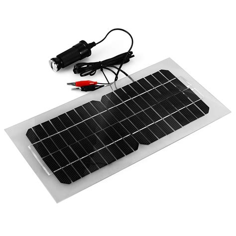 solar marine battery charger 12v portable solar panel car battery charger for motor