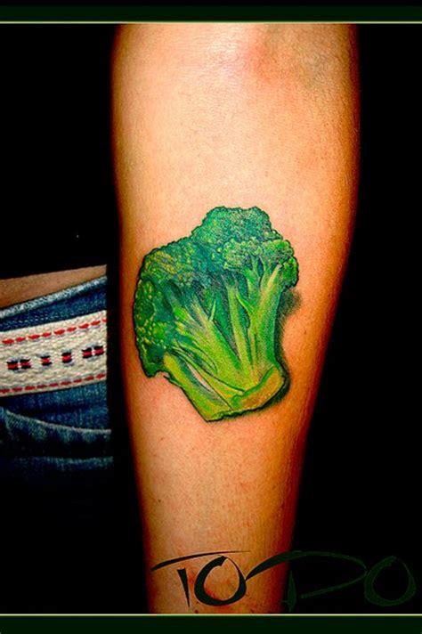 broccoli tattoo brokly of the day