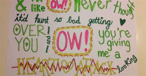 Lyrics Apartment Dc Lyric Drawings One Direction This Would Great With Any