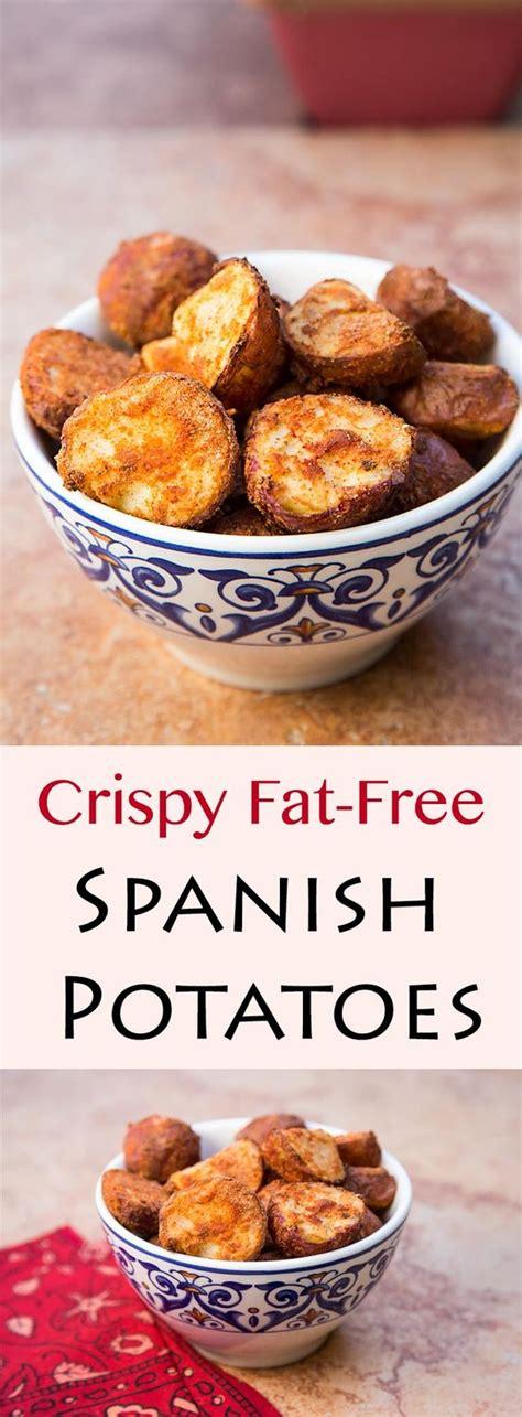 printable spanish recipes crispy fat free spanish potatoes recipe