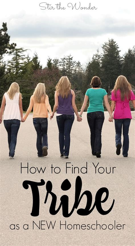 How To Find From Your School How To Find Your Tribe As A New Homeschooler Stir The