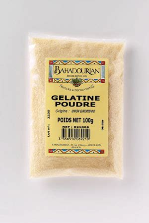 gelatina alimentare vegetale composition