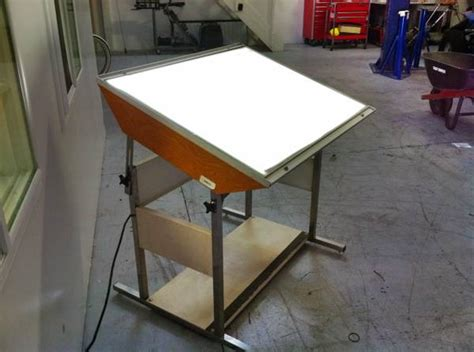 table slo gradco light table espotted