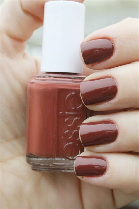essie colors 25 best ideas about brown nail on