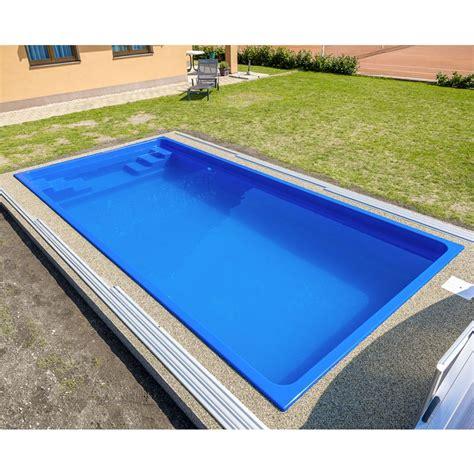 vasche in vetroresina prezzi piscina interrata in vetroresina fenix 6 00 x 3 00 h 1