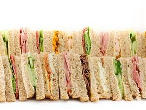Cocktail Party Sandwiches - assorted finger sandwiches downtown charlotte caterers