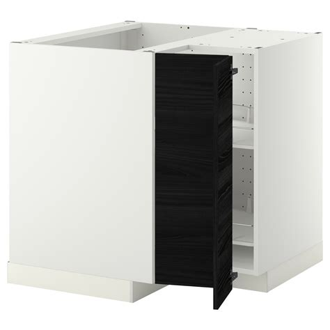 ikea nordby bathroom corner cabinet metod corner base cabinet with carousel white tingsryd
