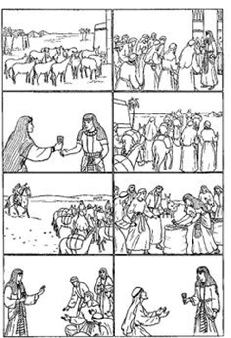coloring pages of joseph story 1000 images about bible joseph on pinterest brother