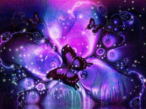 Wallpaper Dinding Motif Kupu Kupu Warna Warni gambar purple butterfly wallpapers gallery gambar