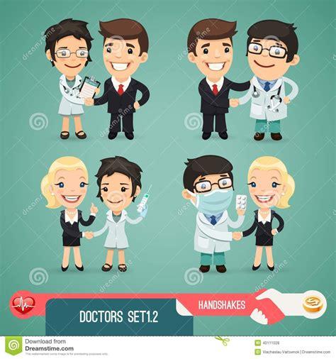 imagenes animadas de doctores doctores personajes de dibujos animados set1 2 ilustraci 243 n