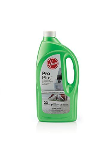 upholstery cleaner solution hoover proplus 2x concentrated professional strength