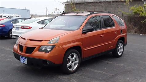 pontiac aztek red mvs 2004 pontiac aztek 1sc trim fwd youtube