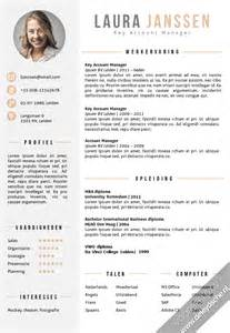 Resume Templates It by Voorbeeld Cv