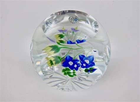 Summer Bouquet by Vintage Whitefriars Summer Bouquet Glass Paperweight