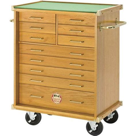Roller Drawers For Kitchen Cabinets by Oak Roller Cabinet 11 Drawer Grizzly Industrial
