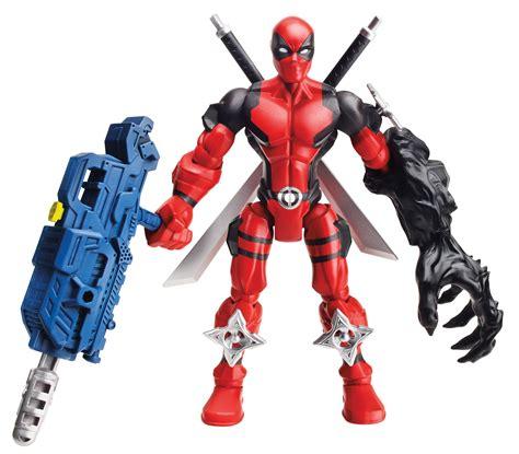 deadpool toys marvel mashers series 3 ghost rider deadpool iceman marvel news