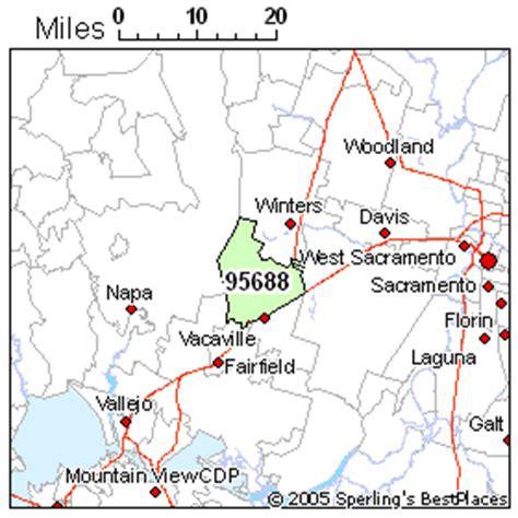 zip code map vacaville ca best place to live in vacaville zip 95688 california