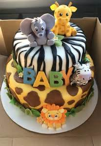 jungle baby shower cakes safari baby shower ideas baby ideas
