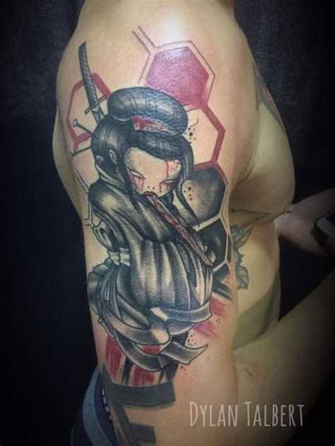 tattoo trash polka geisha trash polka geisha by dylan talbert davenport tattoonow