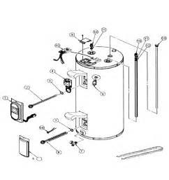 us craftmaster water heater parts model es2j50rd045v sears partsdirect