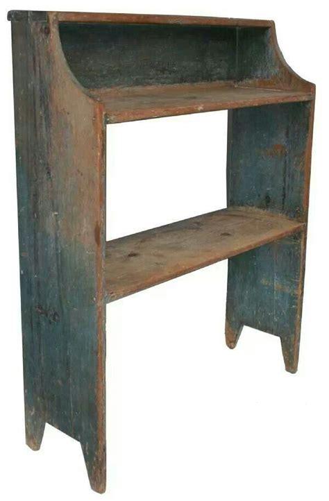 crock bench primitive furniture primitive shelves