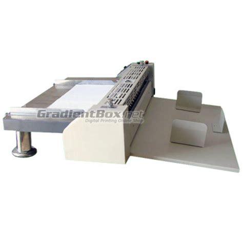 Alat Pemotong Kertas Undangan Mesin Creasing Otomatis Pelipat Kertas Elektrik