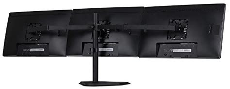 24 inch computer desk mount it triple monitor stand freestanding lcd computer