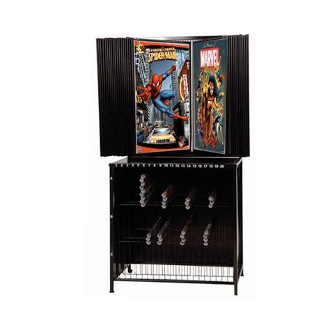 30 panel poster display poster rack flip thru