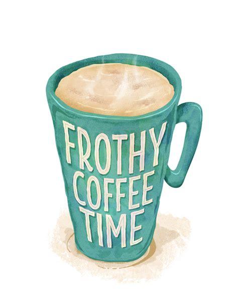 Bed Design frothy coffee time pt design amp illustration
