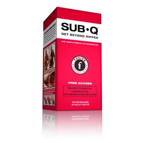 sub q supplement review buy fusion bodybuilding sub q burner at well ca free