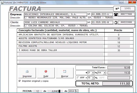 Descargar Plantillas Facturas Servicios Profesionales | descargar plantillas facturas servicios profesionales