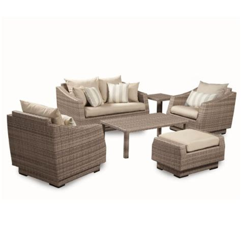 patio furniture seating groups rst outdoor 6 cannes and club seating