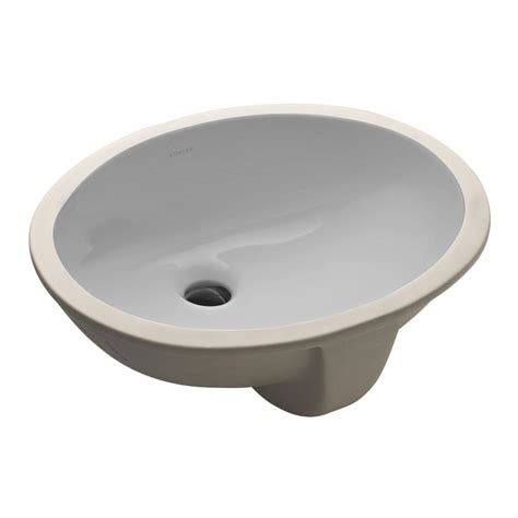avanity undermount bathroom sink in linen cum18ln the home depot