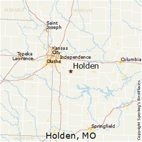 best places to live in holden missouri