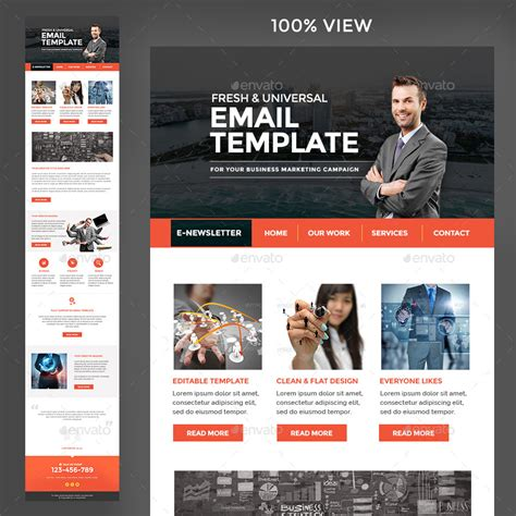 Multi Purpose Newsletter Template 3 Designs By Doto Graphicriver Multi Page Newsletter Templates
