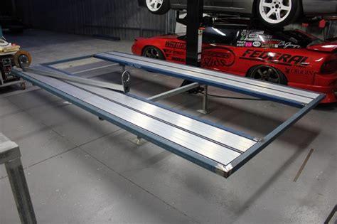 design portal frame exle trailer page 2 engineered to slide