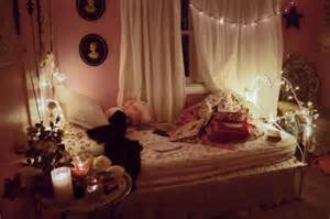 The bed and window who says christmas lights are just for christmas