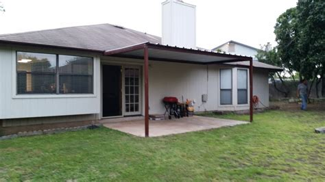 House Awning Price by Attached Porch Awning Northwest San Antonio Carport