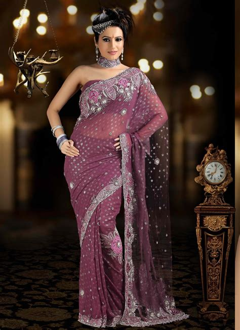 Designer Bridal Wear by Bridal Saree Indian Bridal Saree Bridal Wear