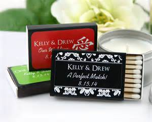 Matches Favors by Black Personalized Matches Set Of 50 My Wedding Favors