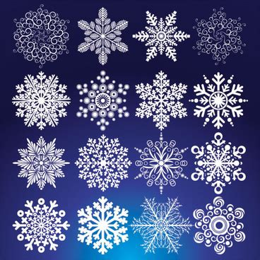 pattern snowflake ai vector pattern snow flakes free vector download 20 113