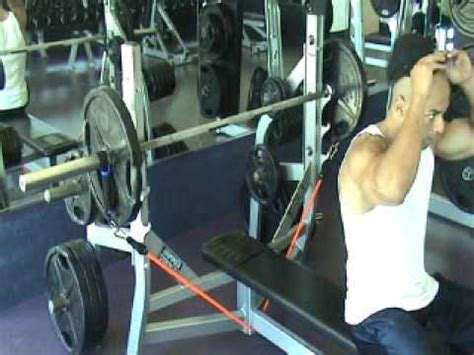 bench press with bands barbell bench press with bands with audio youtube