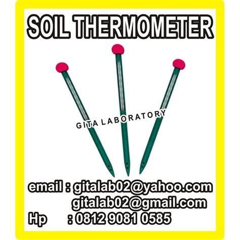 Termometer Aspal Digital jual termometer tanah soil thermometer alla oleh gita persada laboratory di bogor