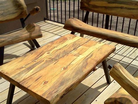 how to stain outdoor wood furniture 17 best images about firepit log furniture on pits stains and cfires